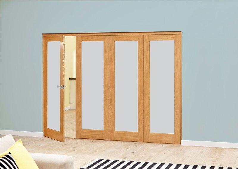 size 40 f279e 31eaa NUVU Glazed Oak P10 Roomfold – Frosted