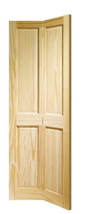 Clear Pine Victorian 4 Panel Bi-fold  sc 1 st  Doors Online UK & Internal Bifold Doors from Doors u0026 More