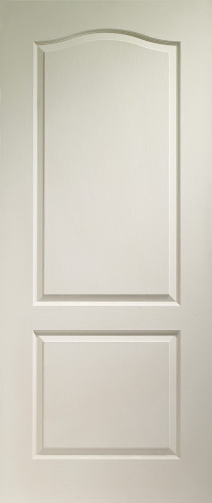 White Moulded Classique 2 Panel Internal Doors