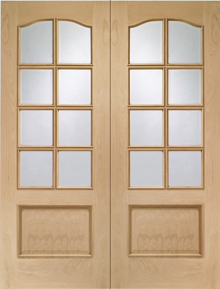 oak internal french doors from doors more. Black Bedroom Furniture Sets. Home Design Ideas