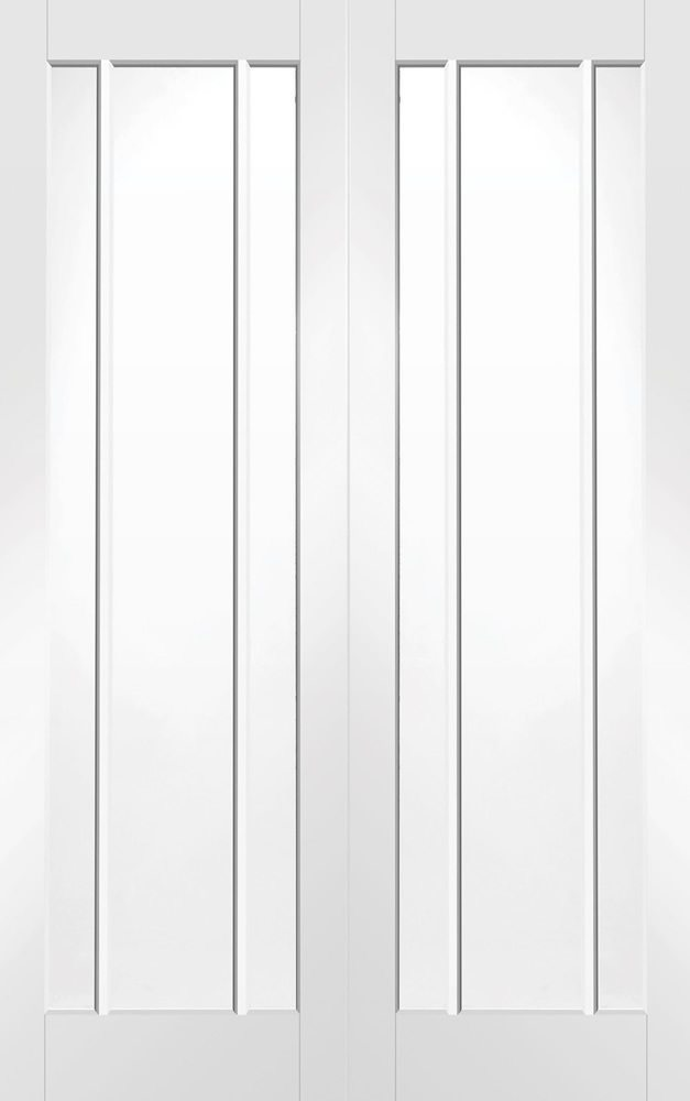 White primed internal french doors from doors more for White french doors