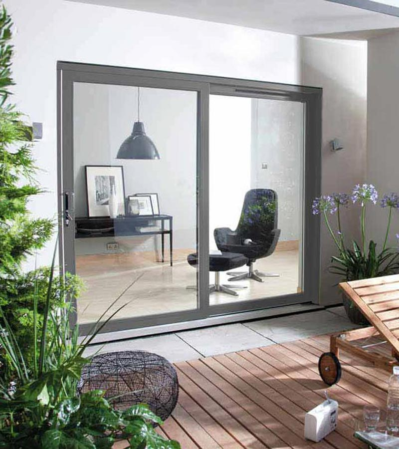 Fenton patio door lh rh sliding softwood patio doors for Non sliding patio doors