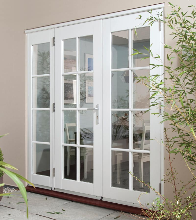 Wellington white wing light georgian softwood patio doors for Patio door companies