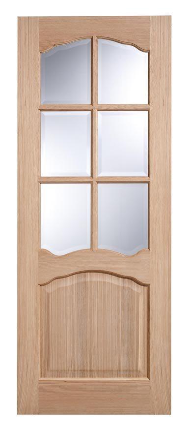 riviera glazed white oak veneer interior doors. Black Bedroom Furniture Sets. Home Design Ideas