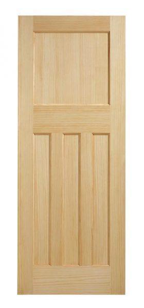 DX 30's Style Pine Fire Door FD30