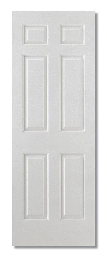 Smooth 6p Square Top Semi Solid Core Composite Interior Doors