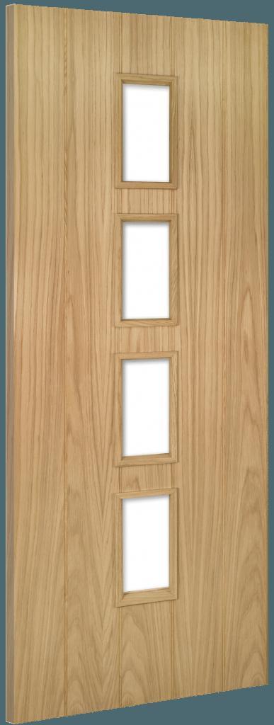 Galway Oak FD30 Unglazed Fire Doors