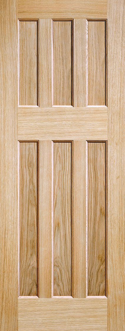 & Oak DX 60u0027s Style Oak Door Internal Doors