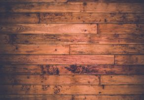 Dark wood floor boards