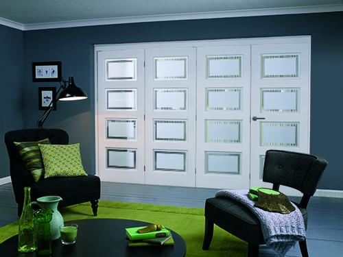 PREMIER Contemporary White 4L Roomfold
