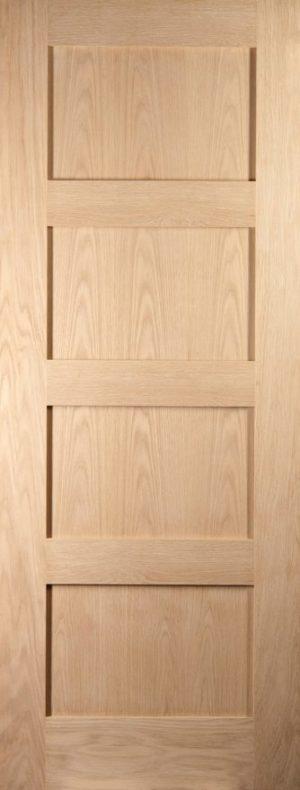 Oak Shaker 4 Panel