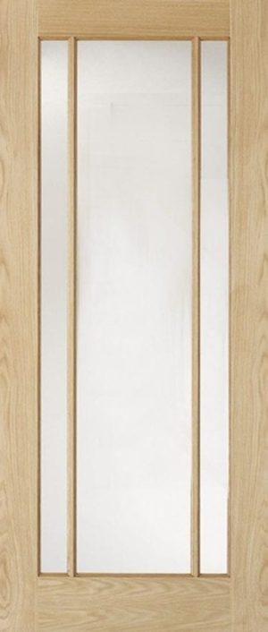 Lincoln Oak Clear Glazed