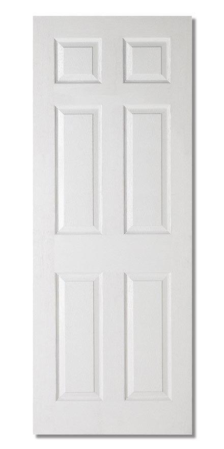 Textured 6P Fire Door