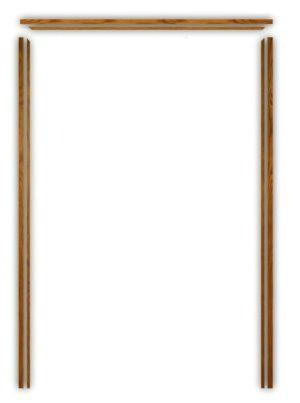 Internal Oak French Door Frame