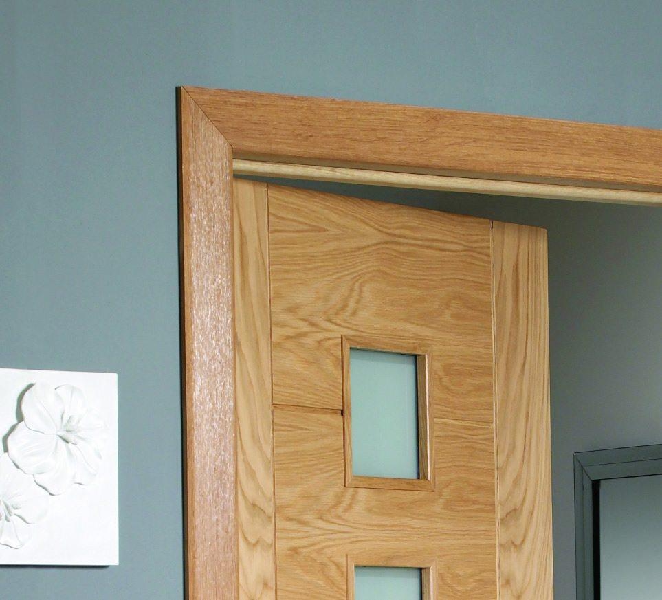 Unfinished Oak Door Architrave set