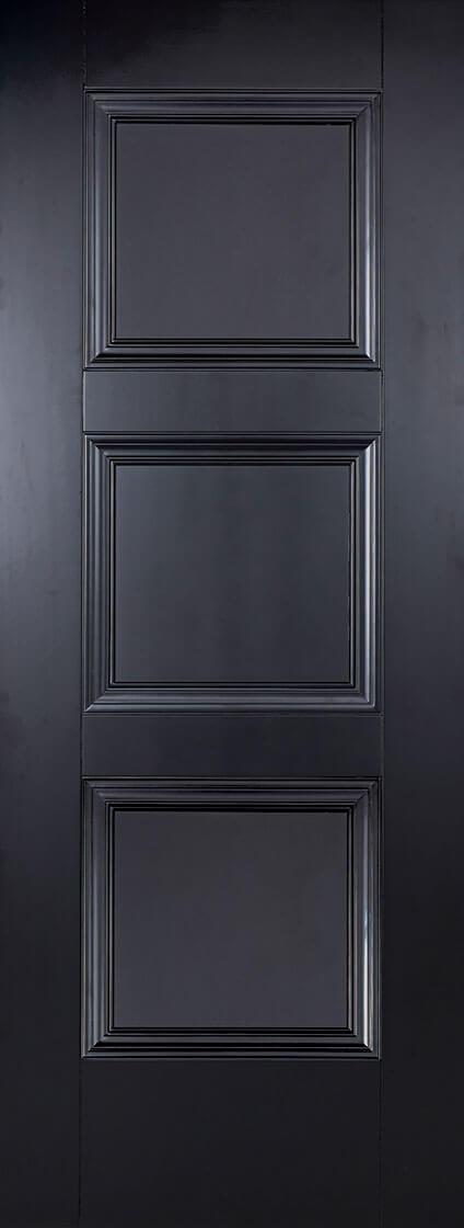 Amsterdam Black Fire Door