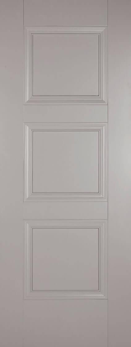 Amsterdam Grey Fire Door