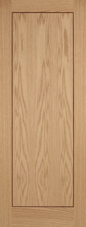 Inlay Oak 1P Fire Door