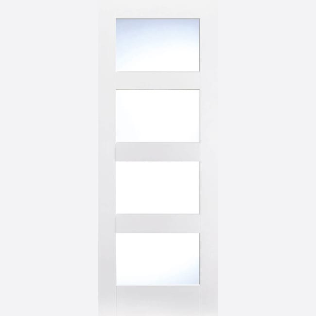 White Primed Shaker 4L Frosted Glass