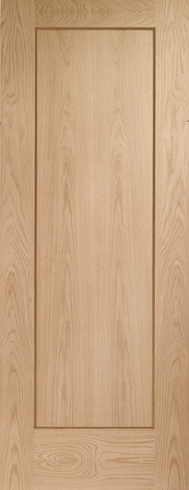 Oak Pattern 10 1 Panel Fire Door
