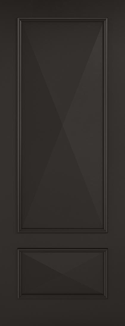 Black Knightsbridge Fire Door