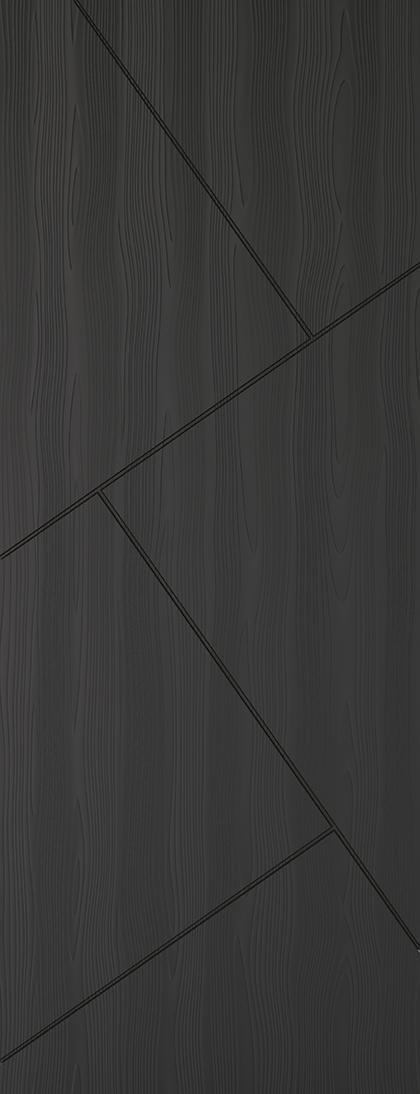 Charcoal Grey Embossed Dover Fire Door