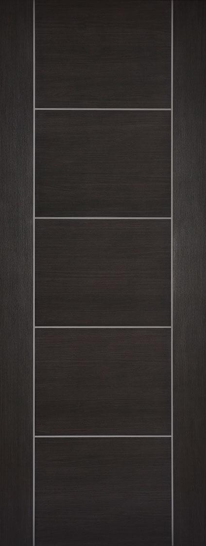 Laminate Dark Grey Vancouver Fire Door