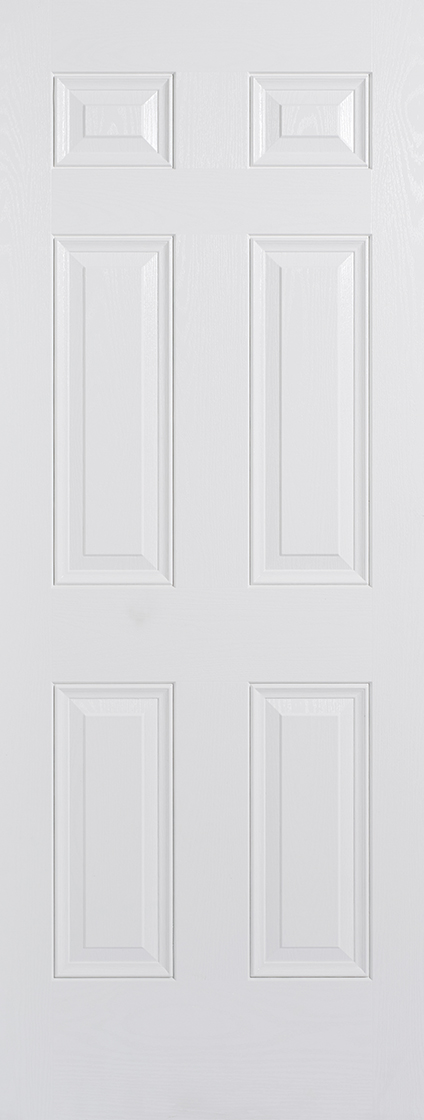 GRP White Colonial 6 Panel