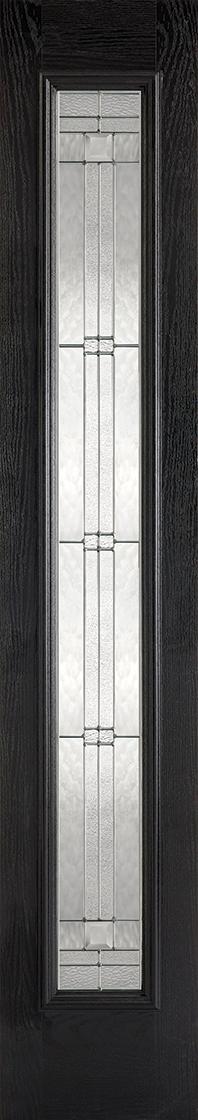 GRP Black & White Elegant Sidelight