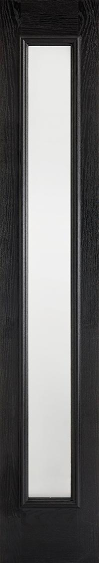 GRP Black & White Sidelight Frosted Glazed
