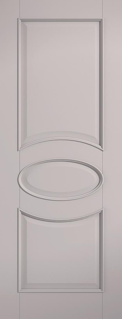 Grey Versailles Fire Door