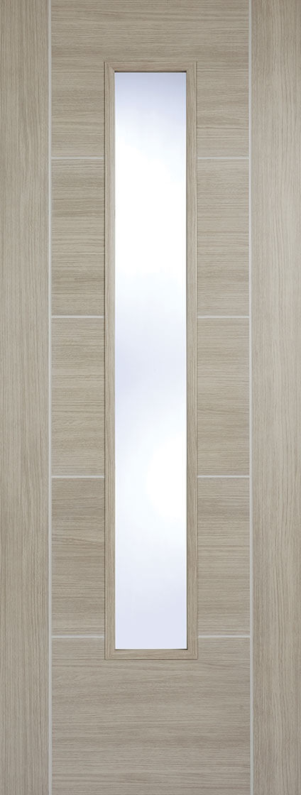 Laminate Light Grey Vancouver Clear Glazed