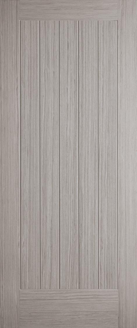Light Grey Pre-Finished Somerset Fire Door