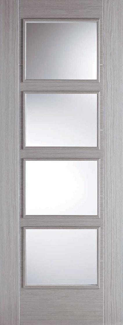 Light Grey Vancouver 4L Clear Glazed