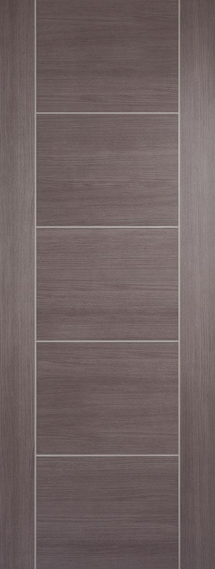 Laminate Medium Grey Vancouver Fire Door