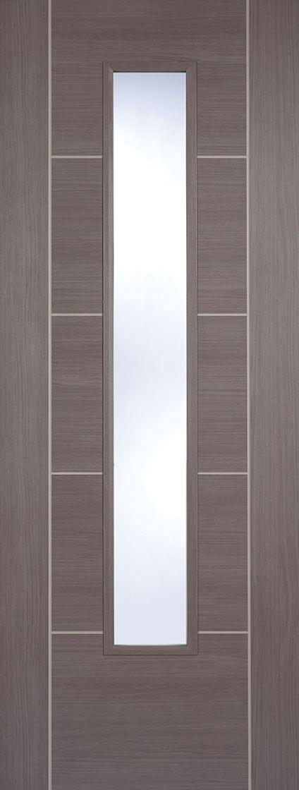 Laminate Medium Grey Vancouver Clear Glazed