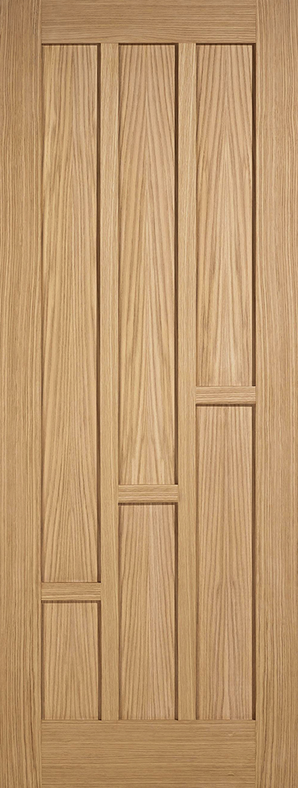Oak Pre-Finished Coventry 6 Panel Fire Door