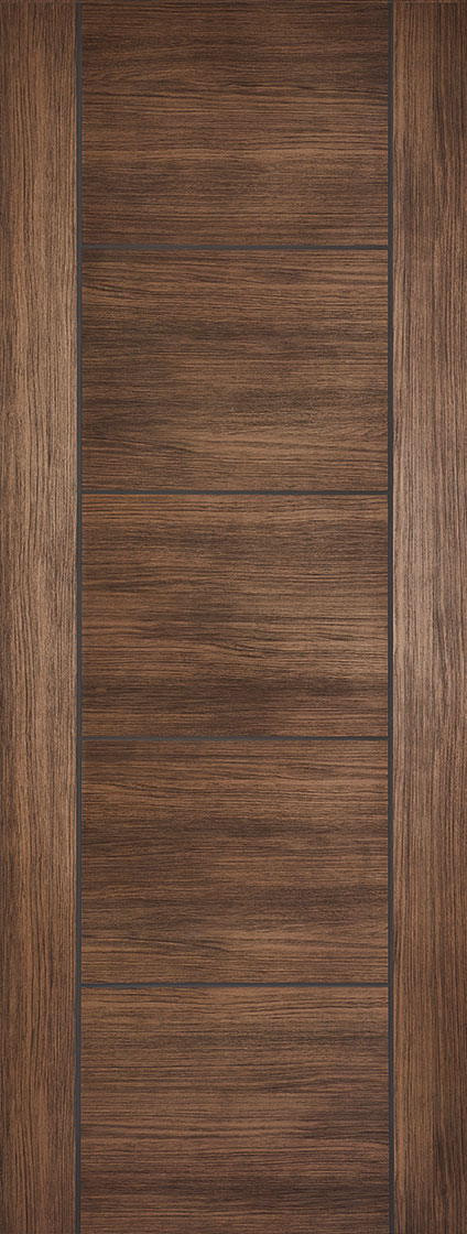 Laminate Walnut Vancouver Fire Door