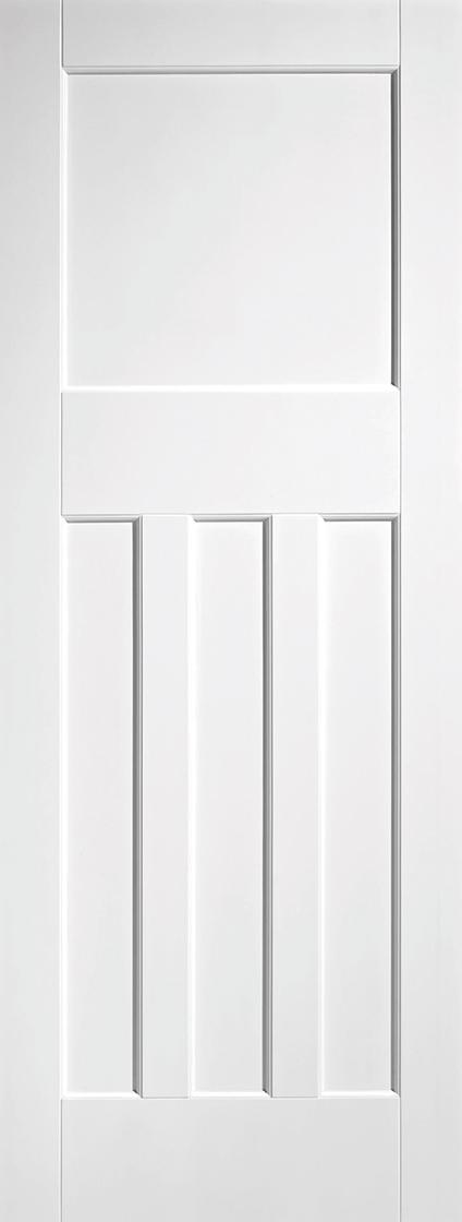 White Primed DX30's Fire Door