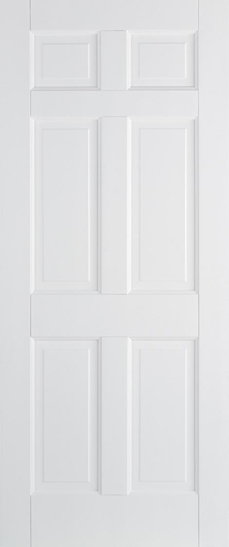 White Primed Regency 6 Panel