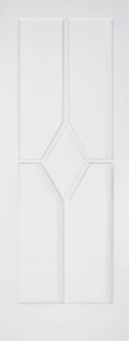 White Primed Reims 5 Panel