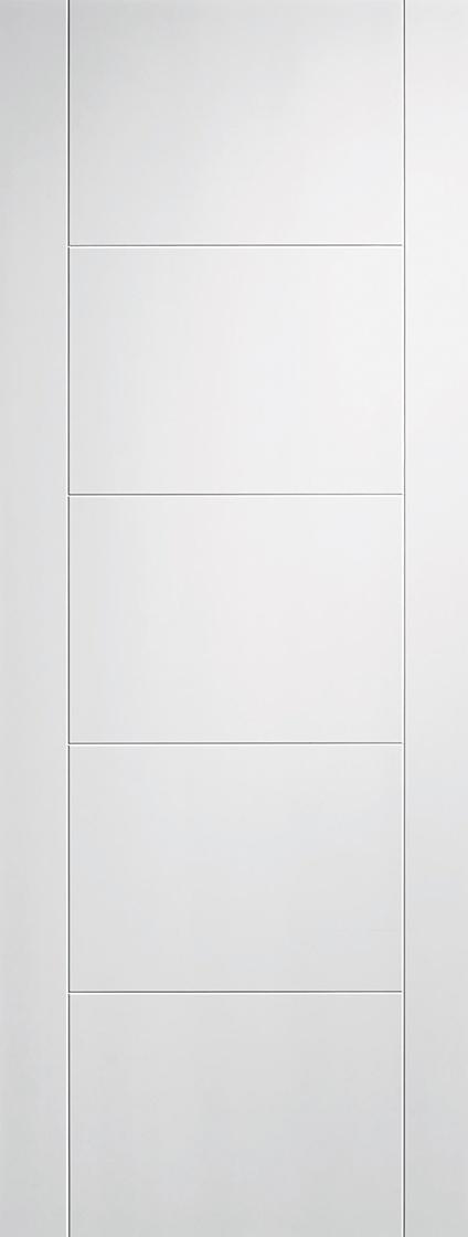 White Primed Vancouver Fire Door