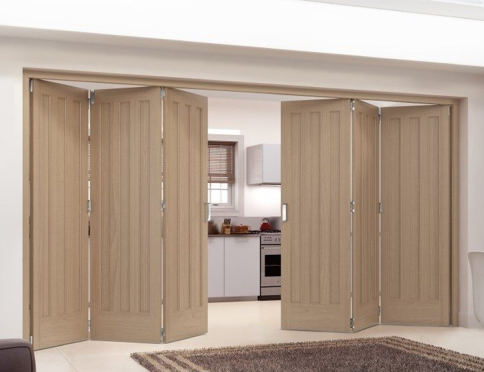 aston white internal bifold doors