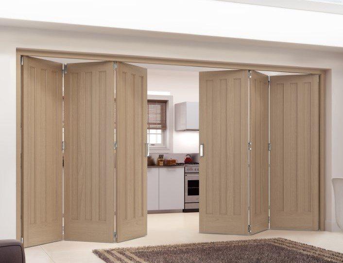 aston white internal bifold doors